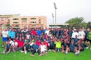 Barça pomaga dzieciom w Omanie