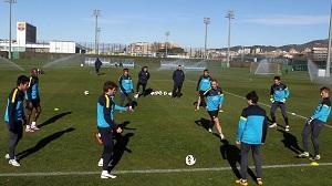 Kolejny trening z Barçą B