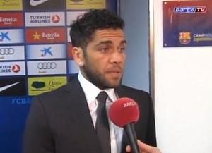 Dani Alves: Nie rywalizowaliśmy