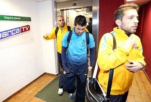 Barça koncentruje się przed spotkaniem