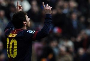 Messi rekordzista