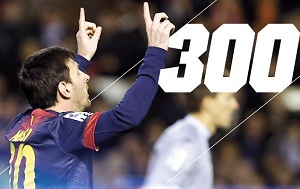 Messi 300, 301… i inne statystyki