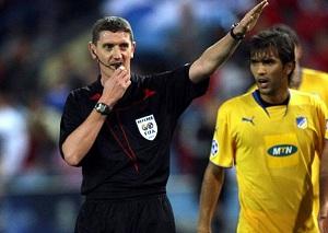 Znany arbiter spotkania Milan-Barça