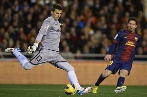 Barça obserwowała Guaitę