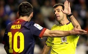 Znany arbiter spotkania Real-Barça