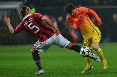 Włosi bliżej awansu: AC Milan 2-0 FC Barcelona