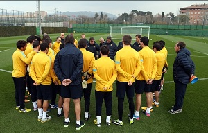 Villa wrócił do treningów