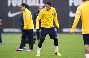 Adriano trenował z grupą, wszyscy na Real