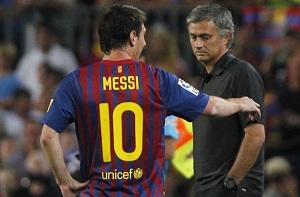 Mourinho trenerem Messiego