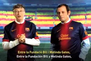Gates i Rosell w kolejnym spocie dotyczącym walki z polio