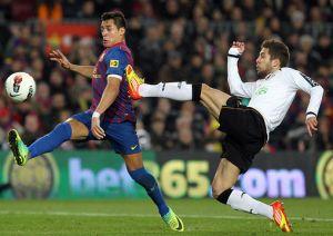 Jordi Alba wraca na Mestalla jako zawodnik Barçy