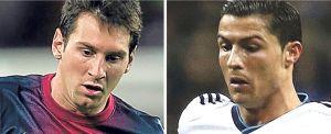 Messi jest lepszy niż Cristiano Ronaldo