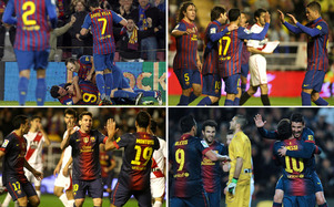 Barça 19-1 Rayo Vallecano