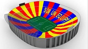 """Som un equip"" – mozaika na Barça-Milan"