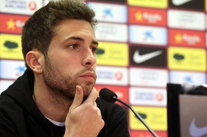 Jordi Alba: Jestem zadowolony z losowania