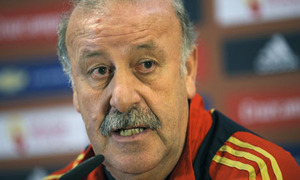 Del Bosque: Odzyskaliśmy najlepszego strzelca hiszpańskiego futbolu