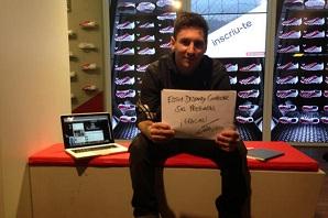 Leo Messi rozmawia z fanami na Twitterze