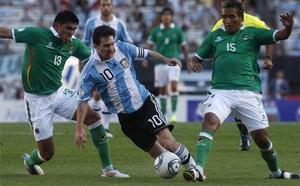 Boliwia bez gola od Messiego