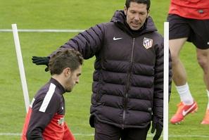 Simeone: Nie dostrzegam tej straty do Barcelony