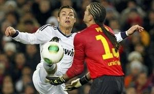 Cristiano Ronaldo rezerwowym przeciwko Barçy