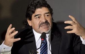 Maradona: Marzę o trenowaniu Messiego w Barçy