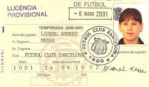 Messi zagrał pierwszy mecz – 7 marca 2001