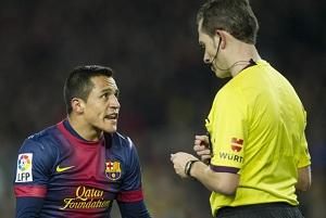 Znany arbiter spotkania Barça-Rayo