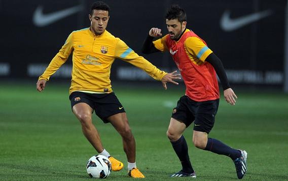 Trening przygotowawczy na Deportivo