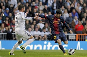 Bramka na Bernabéu także wskazuje drogę