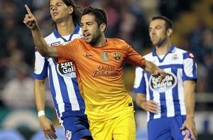 Barça poluje na wygraną z Deportivo