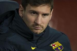 Messi czwarty raz na ławce rezerwowych