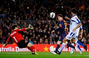 17 kolejek z bramką, 40 goli w La Liga…