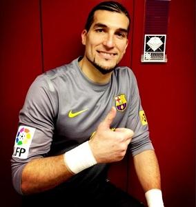 Pinto najstarszym piłkarzem Barçy w La Liga