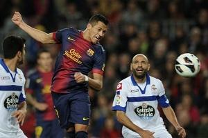 Crack meczu Barça – Deportivo