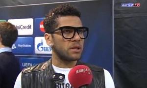 Dani Alves: Fani byli z nas dumni
