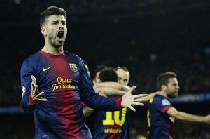 Piqué: Najlepsze spotkanie na Camp Nou