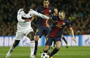 Crack meczu Barça – Milan