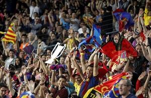 Camp Nou ponownie bezpieczne