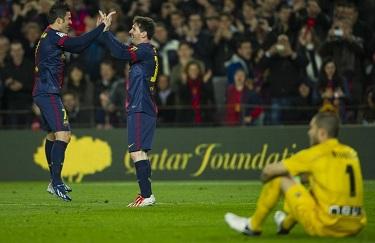 Messilla na Camp Nou: FC Barcelona 3-1 Rayo Vallecano