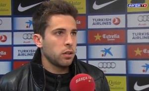 Alba: Ważne jest, aby Villa i Messi rozumieli się