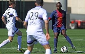 Abidal uczestniczył w meczu przeciwko Istres