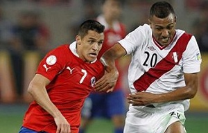 Chile przegrało z Peru