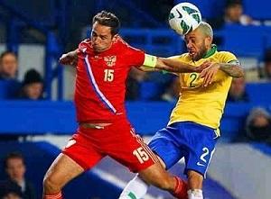Dani Alves vs Rosja