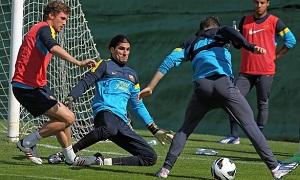 Ponowny trening z Barçą B