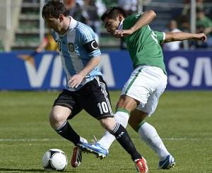 Remis Argentyny z Boliwią