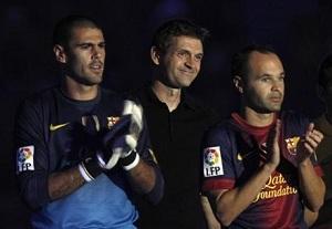 Barça nie wyrzuca Valdésa