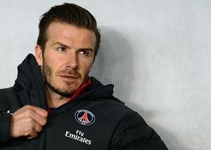 Beckham: Mecz z Barçą będzie trudny