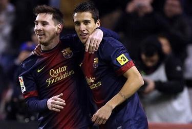 Messi i Tello to za mało: Celta Vigo 2-2 FC Barcelona
