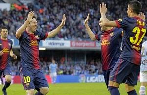 Messi i Tello – wspaniały duet na Balaídos