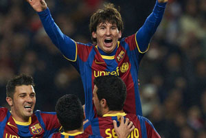 Messi trafia w rewanżach na Camp Nou od czterech lat